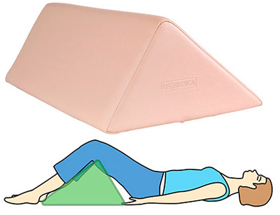Треугольный валик для масажа US MEDICA USM 008