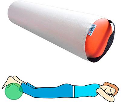 Длинный массажный валик US MEDICA ORANGE